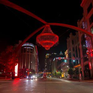 Cleveland Street at Night
